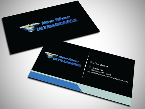 New River Ultrasonics Business Cards and Stationery  Draft # 147 by jpgart92