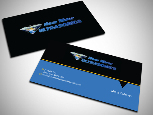 New River Ultrasonics Business Cards and Stationery  Draft # 150 by jpgart92