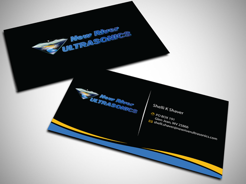 New River Ultrasonics Business Cards and Stationery  Draft # 149 by jpgart92