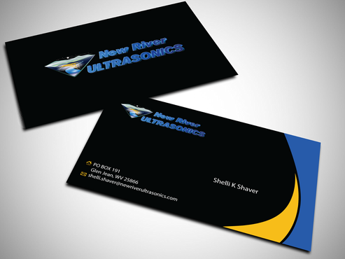 New River Ultrasonics Business Cards and Stationery  Draft # 151 by jpgart92