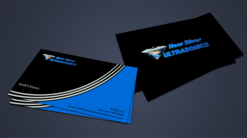 New River Ultrasonics Business Cards and Stationery  Draft # 152 by jpgart92