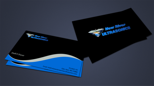 New River Ultrasonics Business Cards and Stationery  Draft # 153 by jpgart92