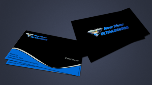 New River Ultrasonics Business Cards and Stationery  Draft # 155 by jpgart92