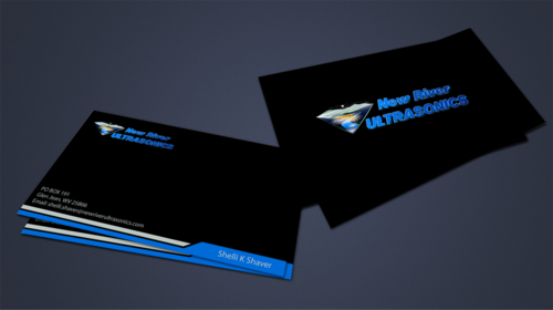 New River Ultrasonics Business Cards and Stationery  Draft # 154 by jpgart92