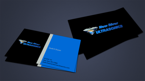 New River Ultrasonics Business Cards and Stationery  Draft # 156 by jpgart92