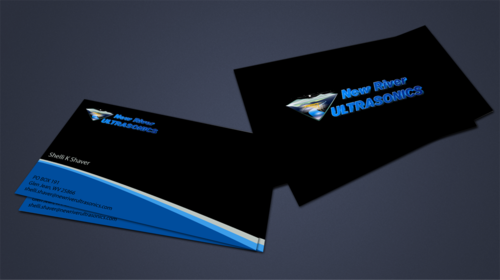 New River Ultrasonics Business Cards and Stationery  Draft # 158 by jpgart92