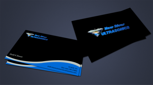 New River Ultrasonics Business Cards and Stationery  Draft # 157 by jpgart92