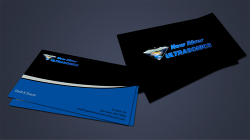 New River Ultrasonics Business Cards and Stationery  Draft # 160 by jpgart92