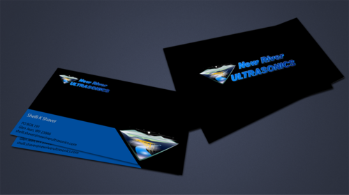 New River Ultrasonics Business Cards and Stationery  Draft # 161 by jpgart92