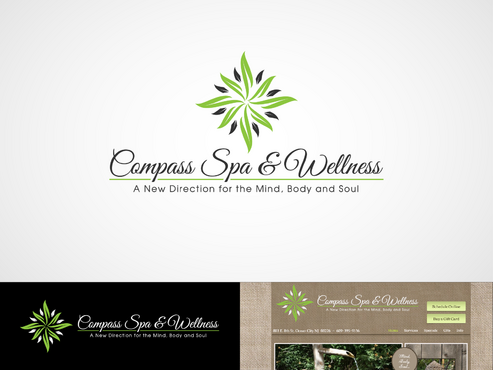Compass Spa & Wellness A Logo, Monogram, or Icon  Draft # 67 by inzdesign