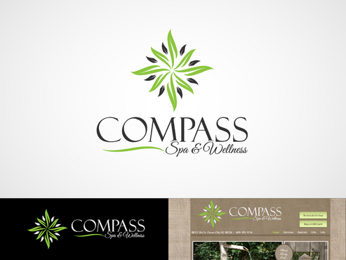 Compass Spa & Wellness A Logo, Monogram, or Icon  Draft # 68 by inzdesign