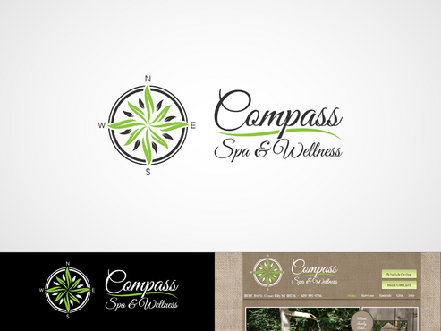 Compass Spa & Wellness A Logo, Monogram, or Icon  Draft # 79 by inzdesign