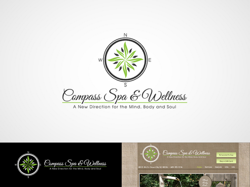 Compass Spa & Wellness A Logo, Monogram, or Icon  Draft # 80 by inzdesign