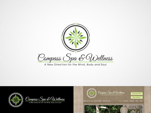 Compass Spa & Wellness A Logo, Monogram, or Icon  Draft # 83 by inzdesign