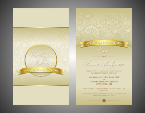 Evening Reception Marketing collateral  Draft # 3 by Kaiza