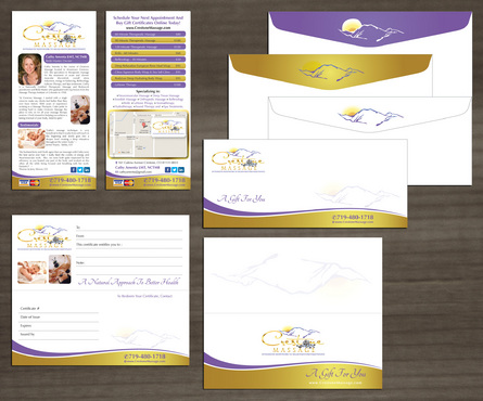 marketing material for Crestone Massage