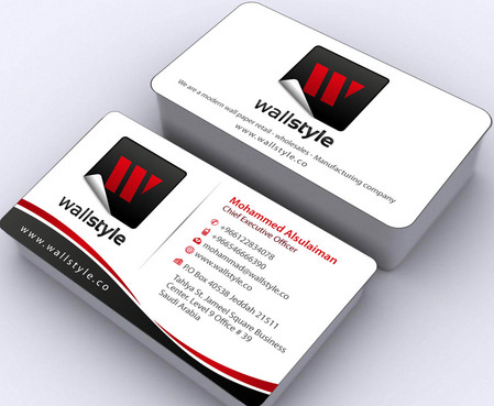 Mohammad Alsulaiman Business Cards and Stationery Winning Design by namgraphics