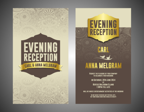 Evening Reception Marketing collateral  Draft # 12 by Kaiza
