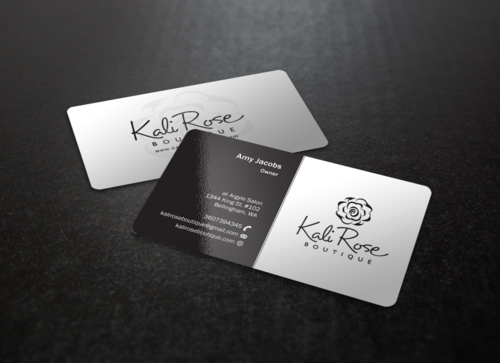 Kali Rose Boutique Business Cards and Stationery  Draft # 70 by einsanimation