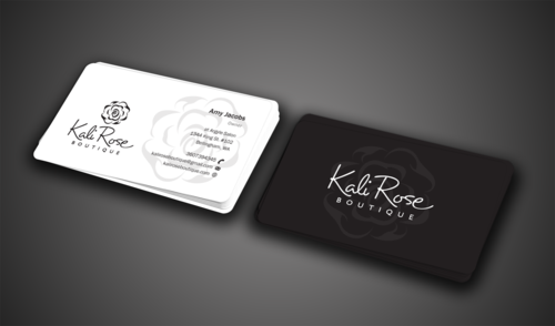 Kali Rose Boutique Business Cards and Stationery  Draft # 74 by einsanimation