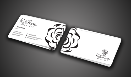 Kali Rose Boutique Business Cards and Stationery  Draft # 75 by einsanimation