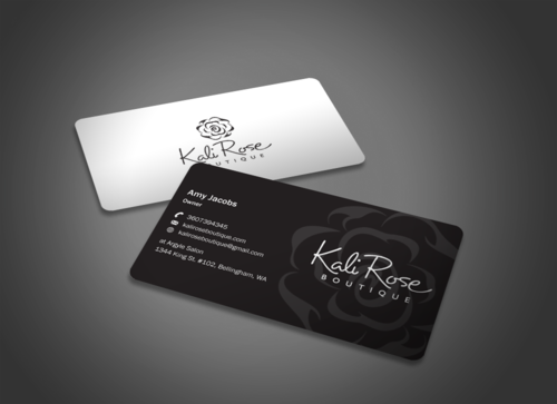 Kali Rose Boutique Business Cards and Stationery  Draft # 86 by einsanimation