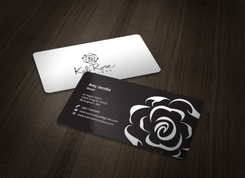 Kali Rose Boutique Business Cards and Stationery  Draft # 92 by einsanimation