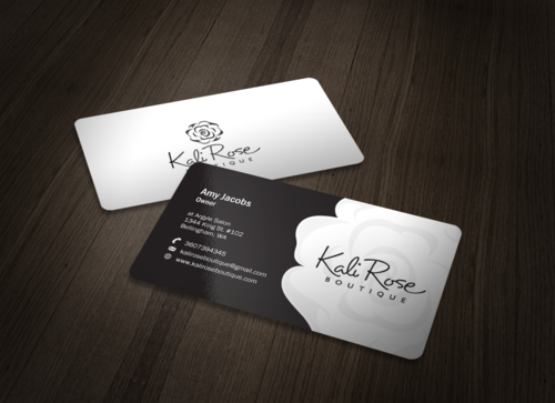 Kali Rose Boutique Business Cards and Stationery  Draft # 93 by einsanimation