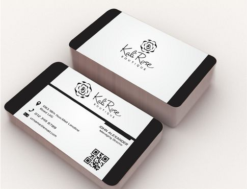 Kali Rose Boutique Business Cards and Stationery  Draft # 183 by DesignBlast