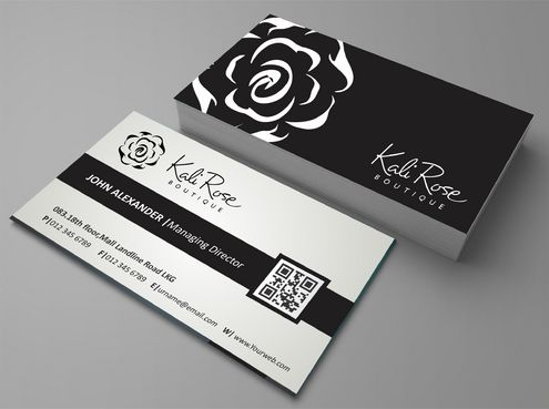 Kali Rose Boutique Business Cards and Stationery  Draft # 187 by DesignBlast