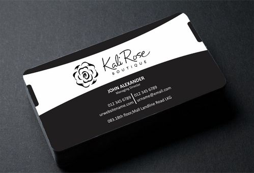 Kali Rose Boutique Business Cards and Stationery  Draft # 190 by DesignBlast
