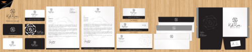 Kali Rose Boutique Business Cards and Stationery  Draft # 194 by einsanimation