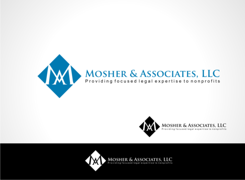 Mosher & Associates, LLC A Logo, Monogram, or Icon  Draft # 122 by veedesign