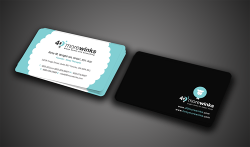 40 More Winks Business Cards and Stationery  Draft # 71 by einsanimation