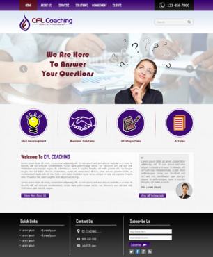 Ignite Yourself Complete Web Design Solution  Draft # 68 by xclusivedesigns