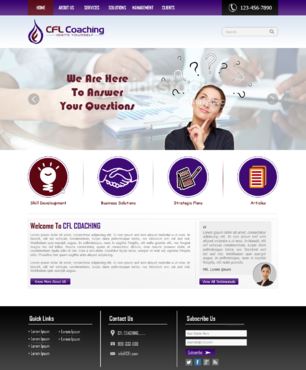 Ignite Yourself Complete Web Design Solution  Draft # 69 by xclusivedesigns