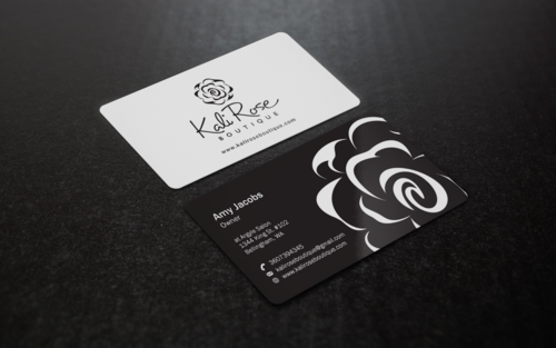 Kali Rose Boutique Business Cards and Stationery  Draft # 203 by einsanimation