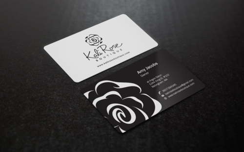 Kali Rose Boutique Business Cards and Stationery  Draft # 205 by einsanimation