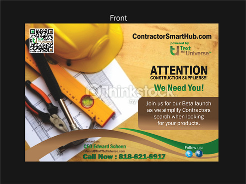 ContractorSmartHub.com Marketing collateral  Draft # 28 by asifwarsi