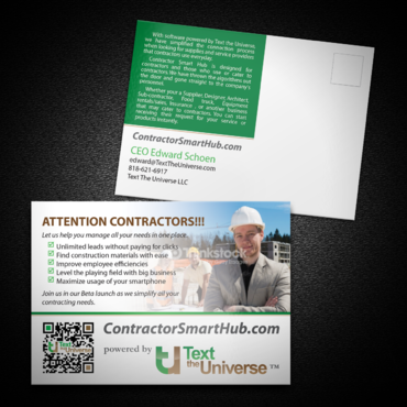 Contractor's Marketing collateral  Draft # 25 by monski