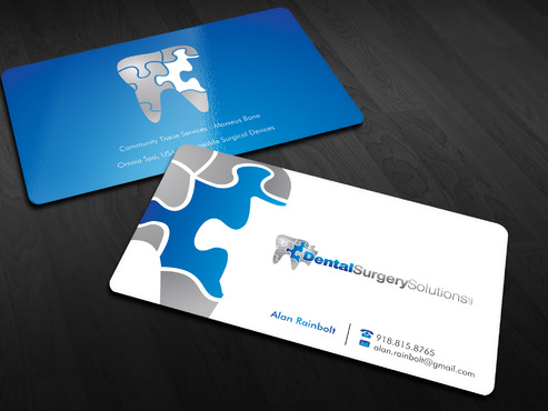 Dental Surgery Solutions, LLC Business Cards and Stationery  Draft # 40 by Xpert