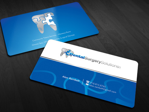 Dental Surgery Solutions, LLC Business Cards and Stationery  Draft # 42 by Xpert