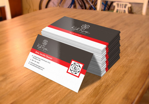 Kali Rose Boutique Business Cards and Stationery  Draft # 212 by mohsin1219