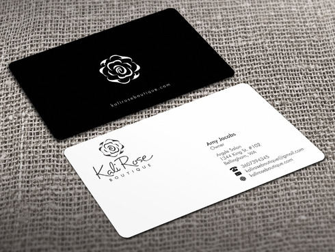 Kali Rose Boutique Business Cards and Stationery  Draft # 214 by Xpert
