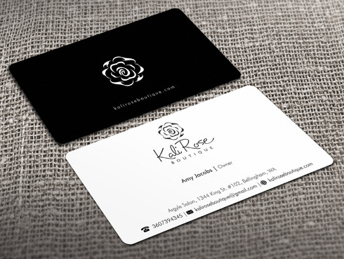 Kali Rose Boutique Business Cards and Stationery  Draft # 215 by Xpert