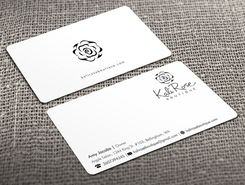 Kali Rose Boutique Business Cards and Stationery  Draft # 216 by Xpert