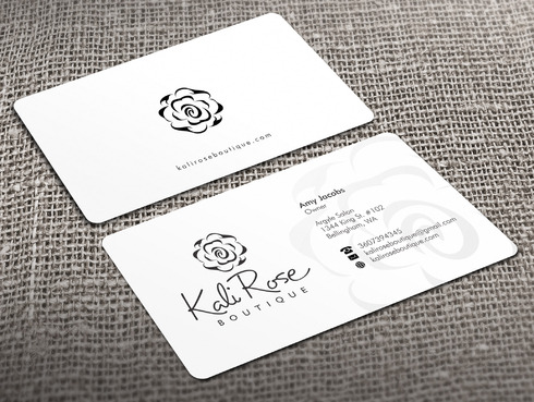 Kali Rose Boutique Business Cards and Stationery  Draft # 217 by Xpert