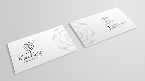 Kali Rose Boutique Business Cards and Stationery  Draft # 218 by Xpert