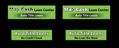 Max Cash Building signs Marketing collateral  Draft # 18 by unidot