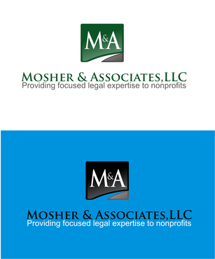 Mosher & Associates, LLC A Logo, Monogram, or Icon  Draft # 471 by IsbieDesign